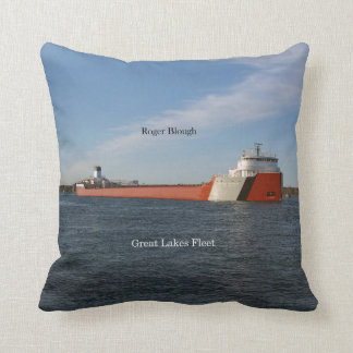 Roger Blough square pillow