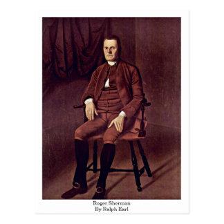 Roger Sherman. By Ralph Earl Postcard