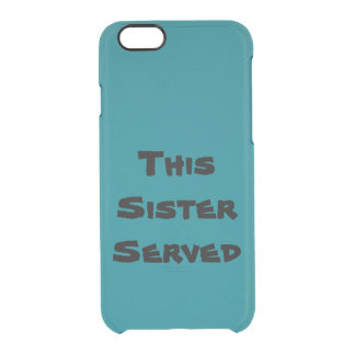 Roger That Clear iPhone 6/6S Case
