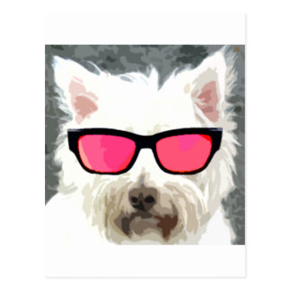 Roger the dog postcard