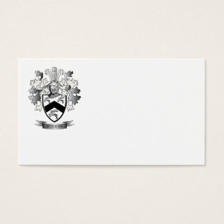 Rogers Coat of Arms Business Card
