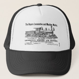 Rogers Locomotive Works 1870 Trucker Hat