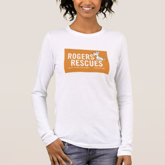 Rogers' Rescues Long Sleeve Women's T-Shirt