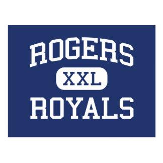 Rogers Royals Middle School Rogers Minnesota Postcard