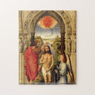 Rogier Van Der Weyden - Baptism of Christ puzzle