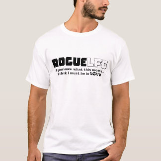 "Rogue LFG ""looking for guild"" T-Shirt"