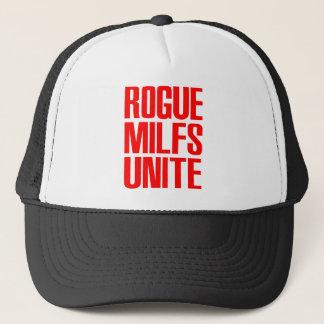 Rogue MILFS Unite Trucker Hat