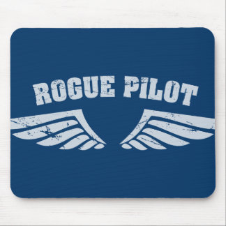 Rogue Pilot Wings Mousepads