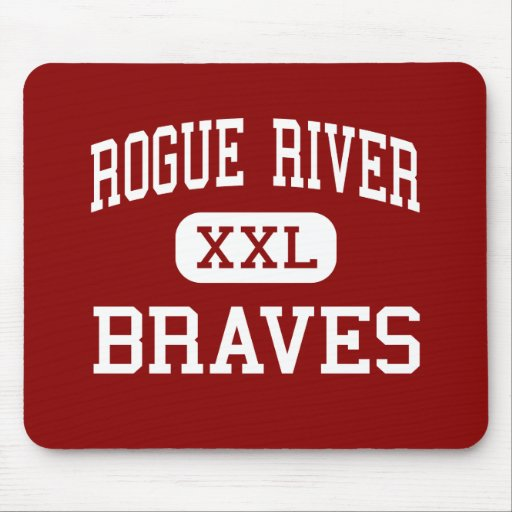 Rogue River - Braves - Middle - Rogue River Oregon Mouse Pads