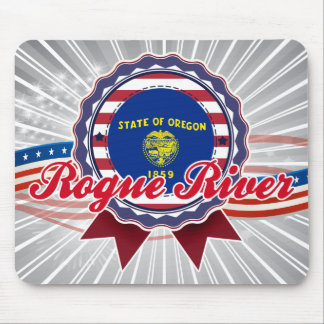 Rogue River, OR Mouse Pad