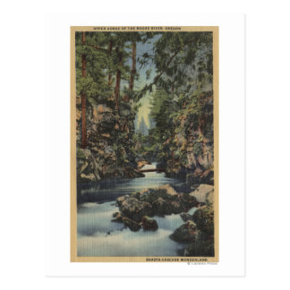Rogue River, Oregon - Upper Gorge View of River Postcard