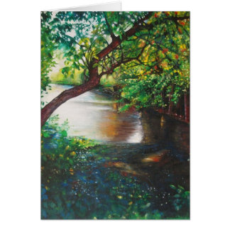 Rogue River Painting, Rockford, MI Greeting Cards