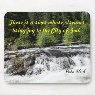 Rogue River - Psalm 46 4 Cards Mouse Pad