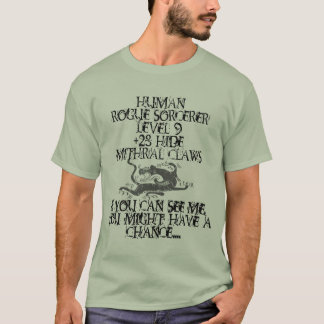 Rogue Sorcerer shirt