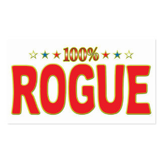 Rogue Star Tag Business Card Template