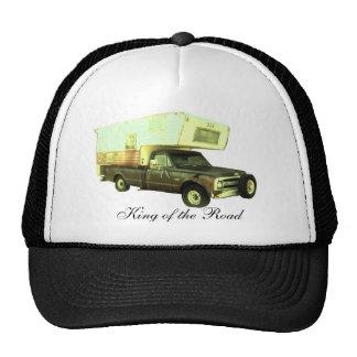 Roi de la route - campeur vintage de camion casquette trucker