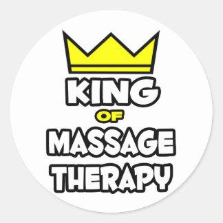 Roi de thérapie de massage adhésif rond