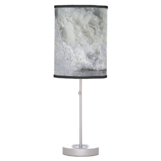 roiling waves on florida beach table lamp