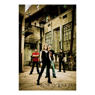 ROJ Band Alley Poster