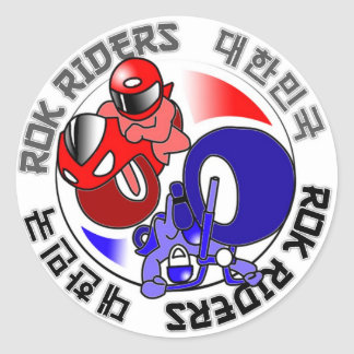 ROK Riders sticker sheet