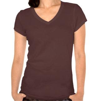 RoKCin : Chemise de V-cou de style de kc T-shirt