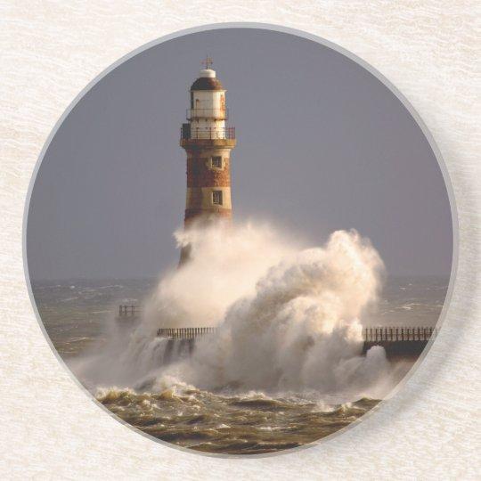 Roker Lighthouse Coaster