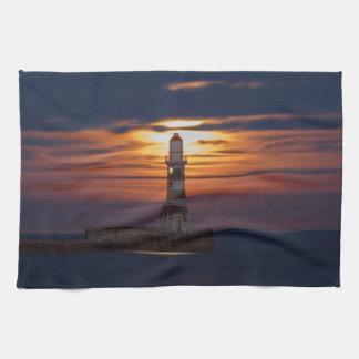 Roker Lighthouse Kitchen Towel