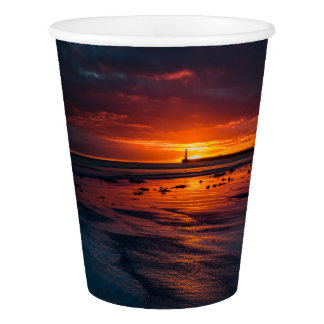Roker Sunrise Paper Cups