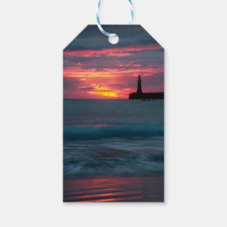 Roker Sunset Gift Tag Pack Of Gift Tags
