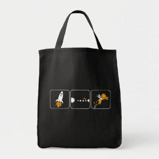 Roket Tote Bag