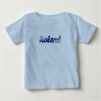 Roland blue short sleeve t-shirt