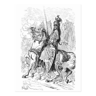 Roland Count of Mans and Knight of Blaives Postcard