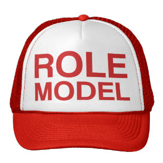 ROLE MODEL slogan hat