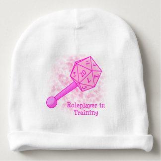 Roleplayer en formant la calotte rose bonnet pour bébé
