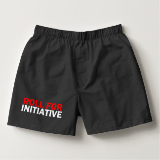 Roll 4 initiative boxers