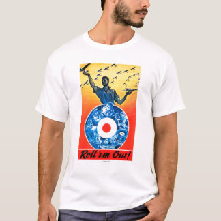 Roll 'em Out Royal Canadian Air Force T-Shirt