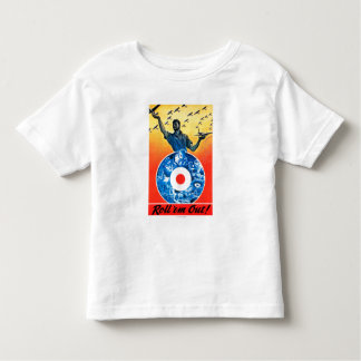 Roll 'em Out Royal Canadian Air Force Toddler T-shirt