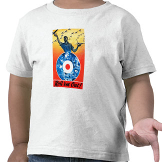 Roll em Out Royal Canadian Air Force Shirt
