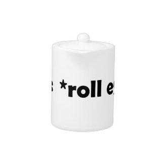 roll eyes