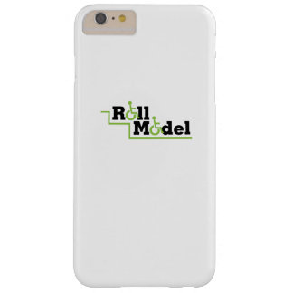 Roll Model Disability Awareness Gift Wheelchair Barely There iPhone 6 Plus Case