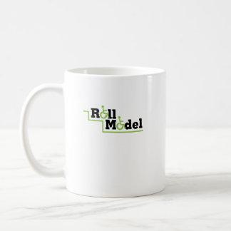 Roll Model Disability Awareness Gift Wheelchair Coffee Mug