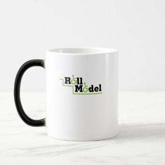 Roll Model Disability Awareness Gift Wheelchair Magic Mug