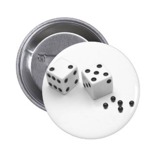 Roll of the Dice Pinback Button