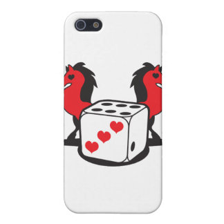 roll the dice! lucky horses case for the iPhone 5