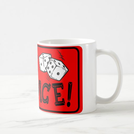 Roll The Dice Coffee Mugs