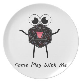 Roll the Dice Party Plates