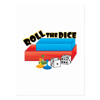Roll The Dice Postcard
