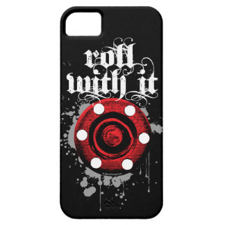 Roll With It (Roller Hockey) iPhone 5 Cover