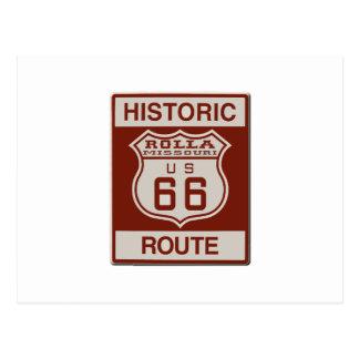 Rolla Route 66 Postcard