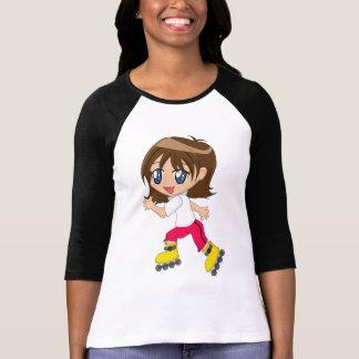 Roller-blading Girl Shirt